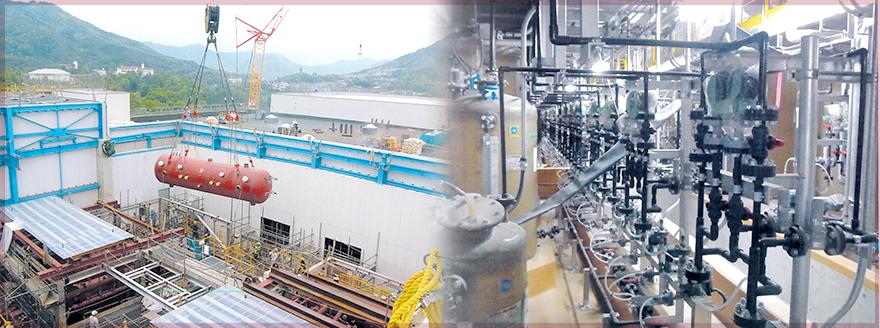 【福琉工業 株式会社】九州北部にて機械器具設置業・管工事・製缶工事・各種溶接を行っております。